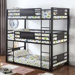 Rogen Triple Bunk Bed
