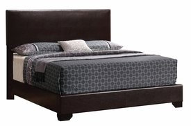 Queen Upholstered Bed with Low Profile