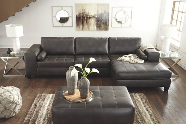 Nokomis Charcoal Sectional