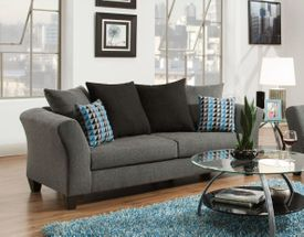 Paris Graphite Sofa