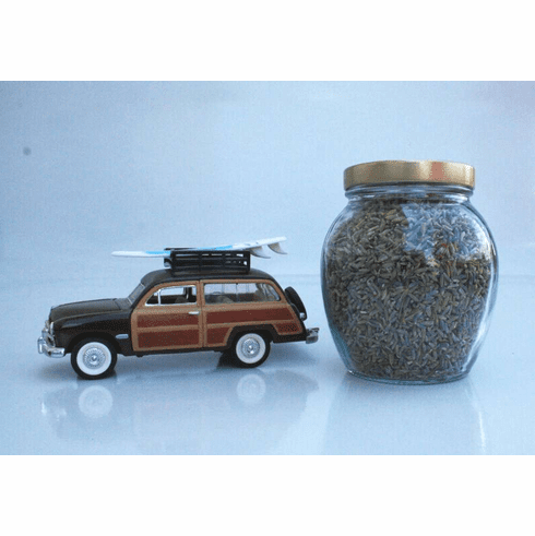 Log Cabin - Travel Jar