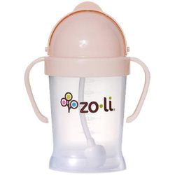 BOT Straw Sippy Cup - Blush