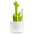 Cacti Brush Set- Wht/Grn