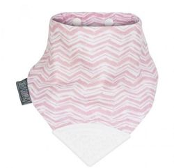CHEEKY CHOMPERS MUSLIN NECKERCHEW-Rosy Days