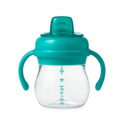 Transitions Soft Spout Sippy Cup With Removable Handles:Teal