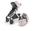 VISTA V2 Stroller- ALICE (dusty pink/silver/saddle leather)