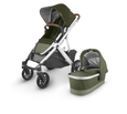 VISTA V2 Stroller- HAZEL (olive/silver/saddle leather)