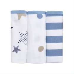 Washcloths 3pk - rock star
