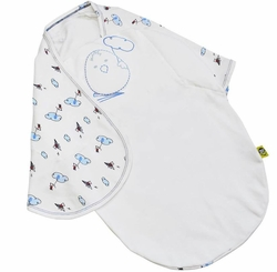 Zen Swaddle Classic - Flying Adventures of Mouse
