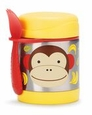 Zoo Stainless Steel Food Jar - MONKEY