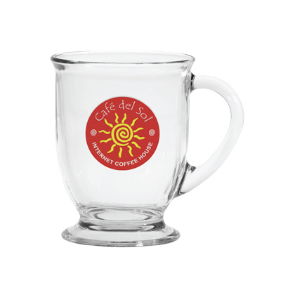 16oz. Glass Mug
