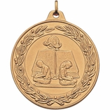 2 INCH READING MEDAL - MULTIPLE COLORS