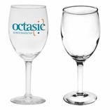8oz. Logo Wine Glass