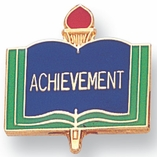 ACHIEVEMENT PIN ACADEMIC GOLD