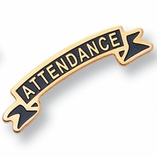 ATTENDANCE PIN ENAMELED