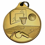 BASKETBALL GENERAL MEDAL - MULTIPLE COLORS