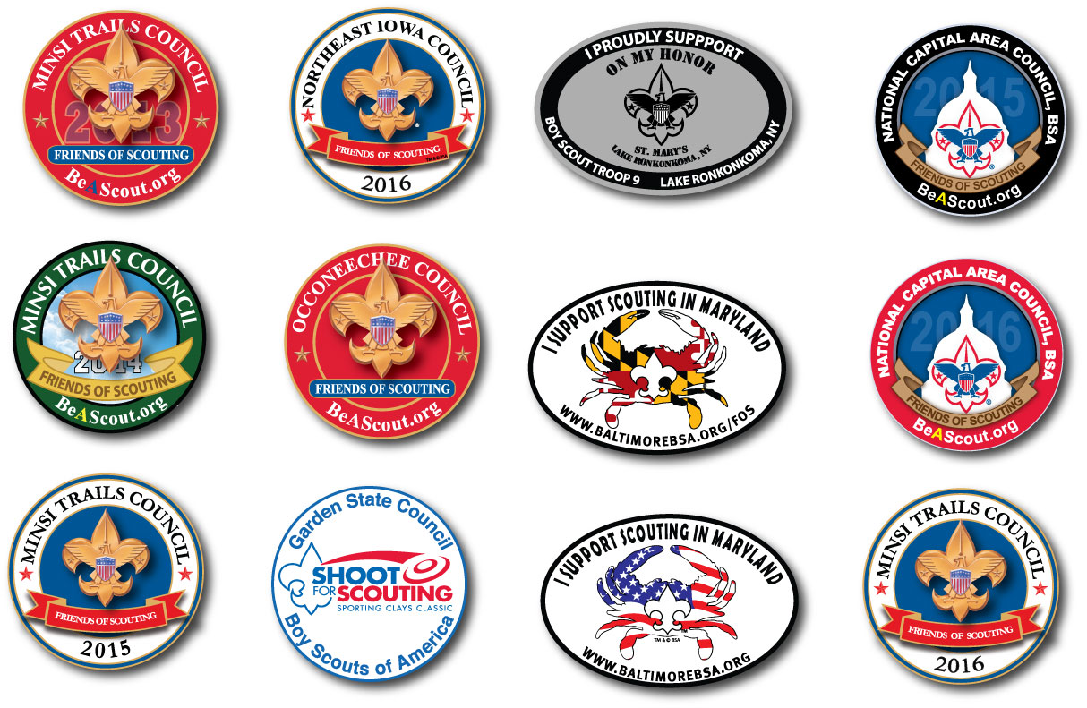 Boy Scouts Car Magnets