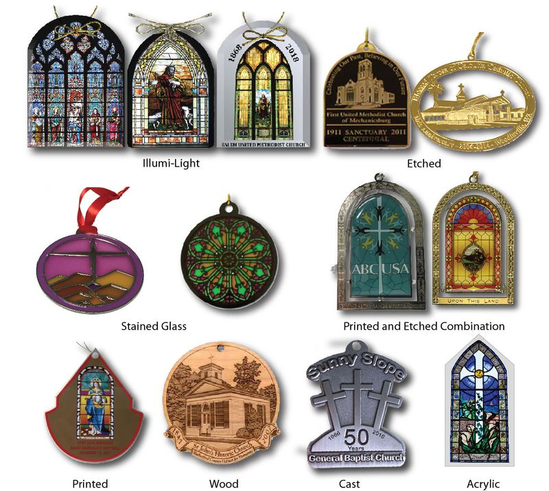 Custom Church Ornaments