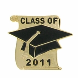CLASS OF 2011 ENAMELED SCROLL