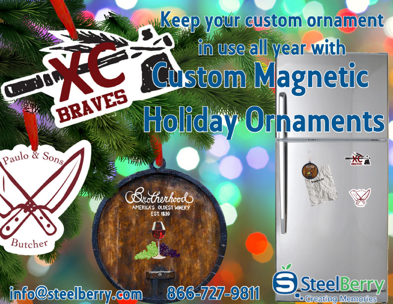 Custom Magnetic Ornaments