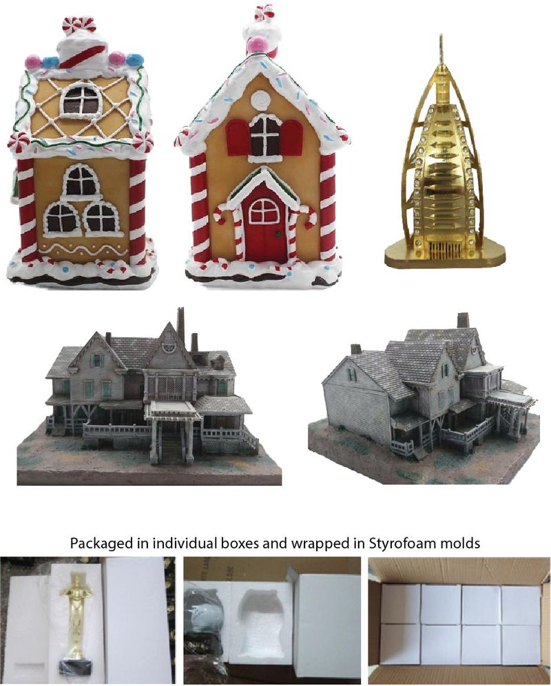 Custom Molded Buildings