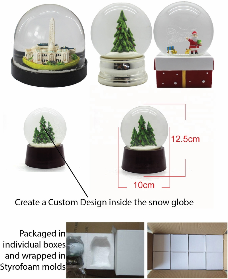 Molded Snowglobes
