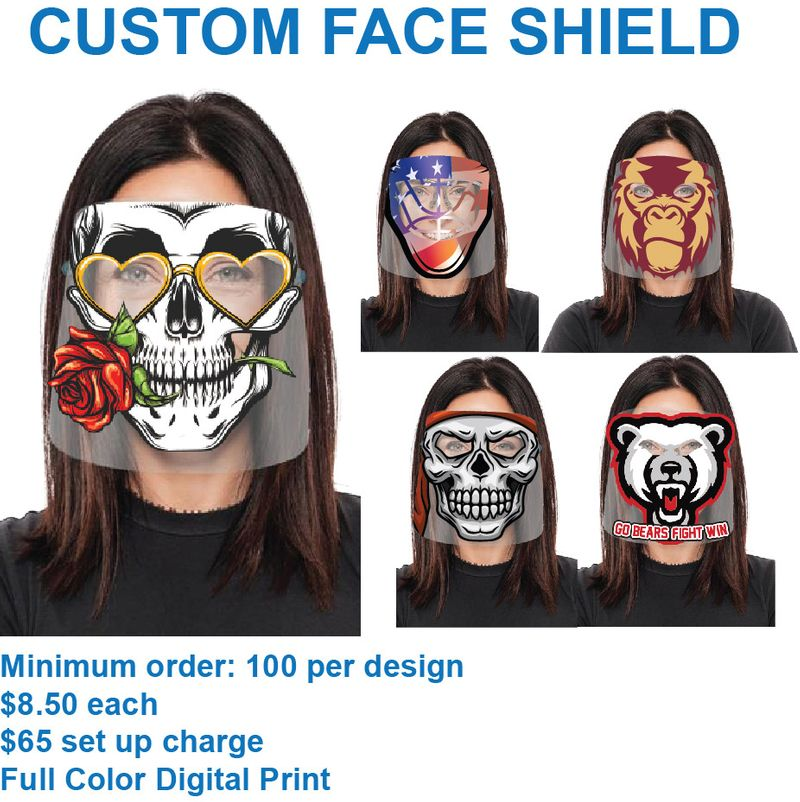 Custom Printed Face Shield