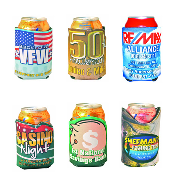 CUSTOM SHAPED CAN COOLERS - FULL COLOR