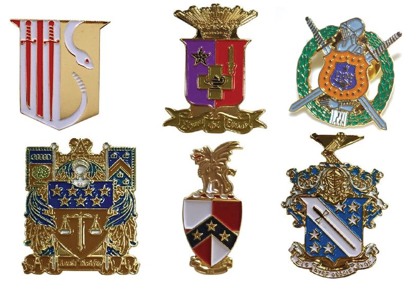 Fraternity Pins