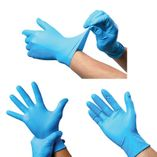 DISPOSABLE GLOVES AND SHOE COVERS