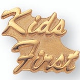 KIDS FIRST PIN GOLD PLATED