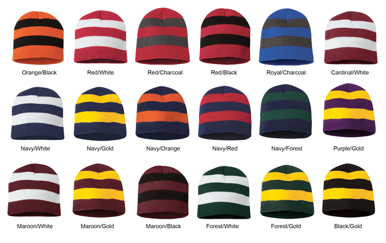 Knit Rugby Hat