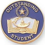 OUSTANDING STUDENT PIN