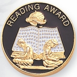 READING AWARD PIN