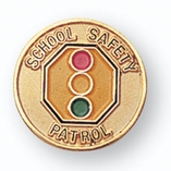 SCHOOL SAFETY PATROL PIN