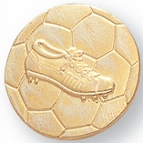 SOCCERBALL AND SHOE CHENILLE PIN