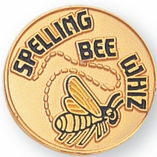 SPELLING BEE WHIZ PIN