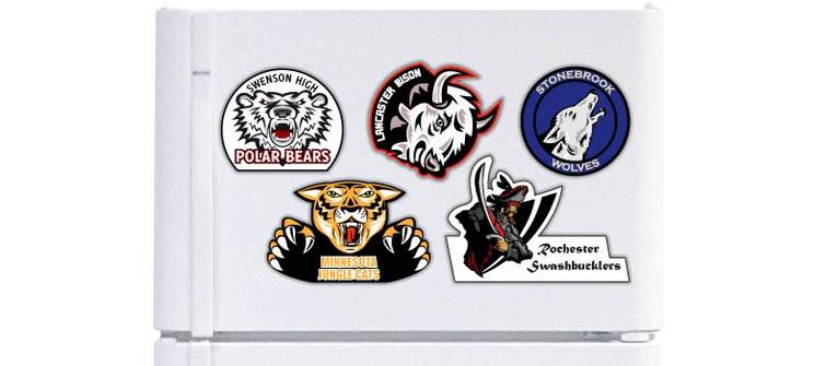 Sports Logo Magnets