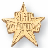 STAR PERFORMER CHENILLE PIN