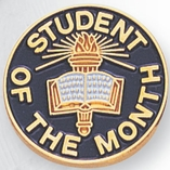 STUDENT OF THE MONTH PIN