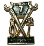 UNION MADE IRONWORKERS LAPEL PIN