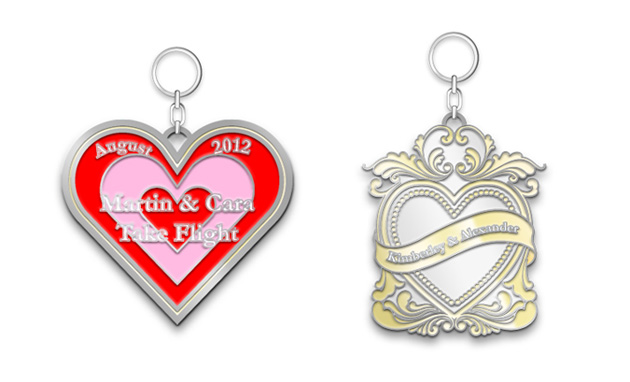 Wedding Key Chains