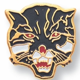 WILDCAT PIN ENAMELED