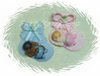 Baby shower Favor AFB036 Mint Green