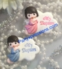 Cold Porcelain Baptism Favor R002