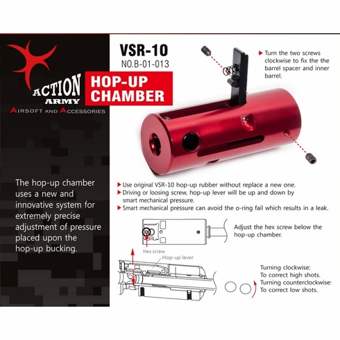 Action Army Hop-up Chamber VSR-10