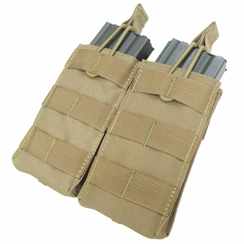 Condor Double Open Top Mag Pouch M4/M16