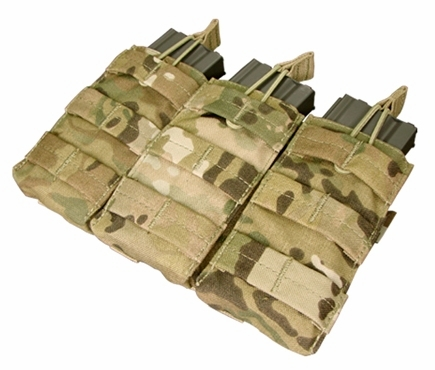 Condor Triple M4 Open top Mag Pouch