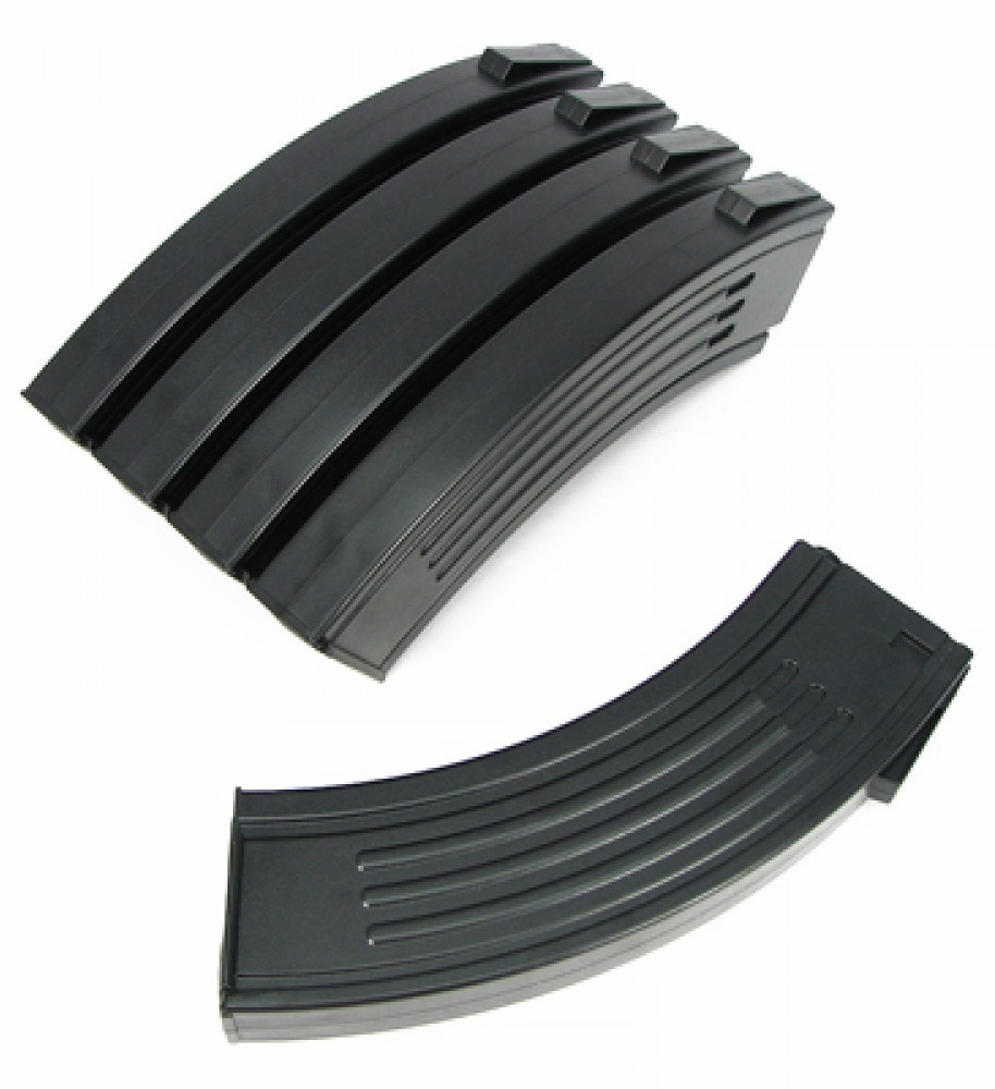 King Arms AK Style M4/M16 Mid-Cap Magazine Box Set