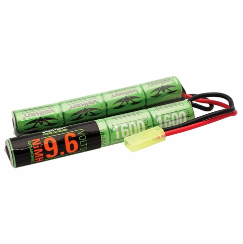 Valken 9.6v 1600mAh Crane Stock Battery